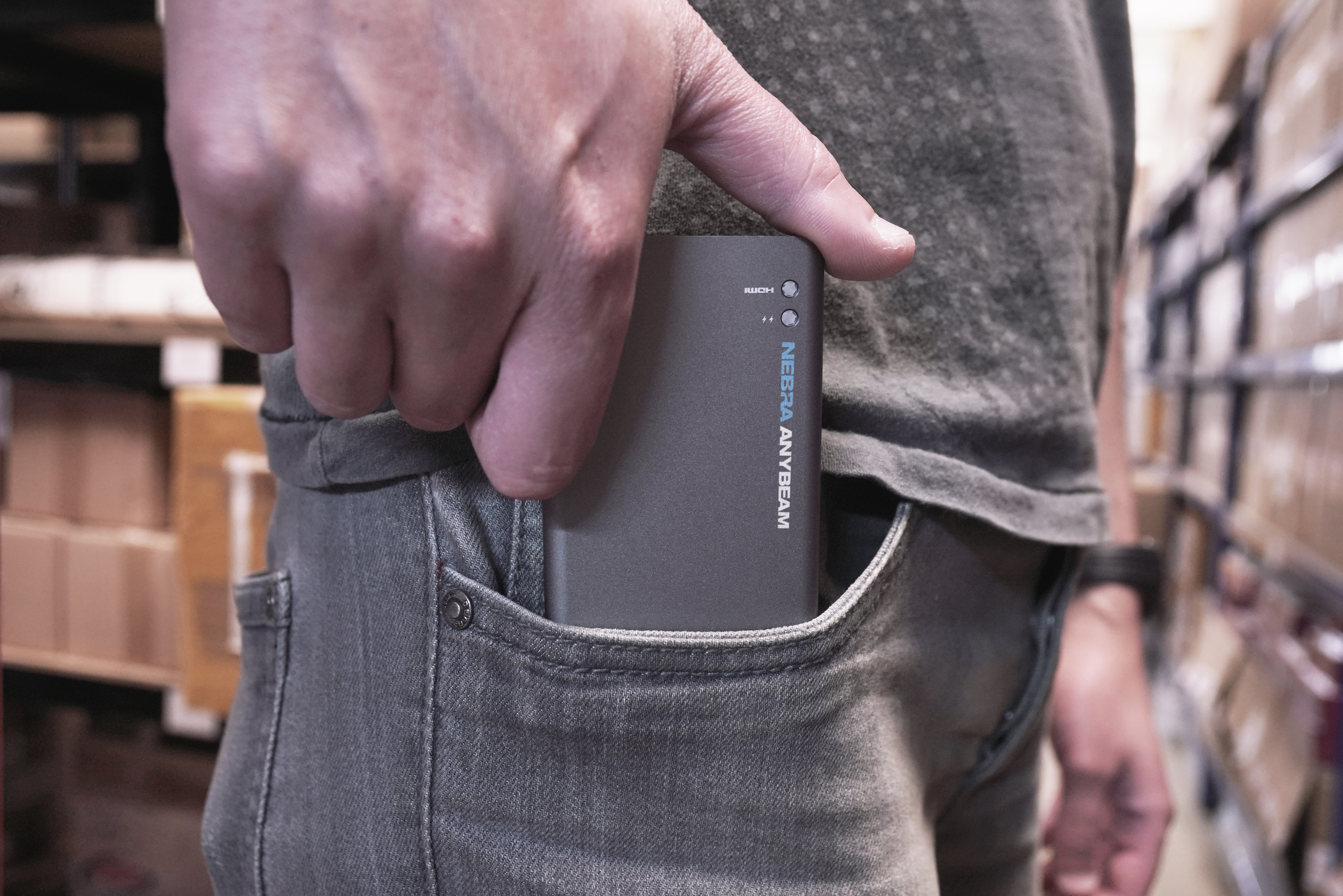 World's smallest 'pocket cinema' lets you carry around a 150-inch screen
