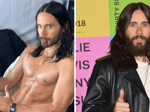 Jared Leto is the ultimate thirst trap as he goes topless on Marvel's Morbius set