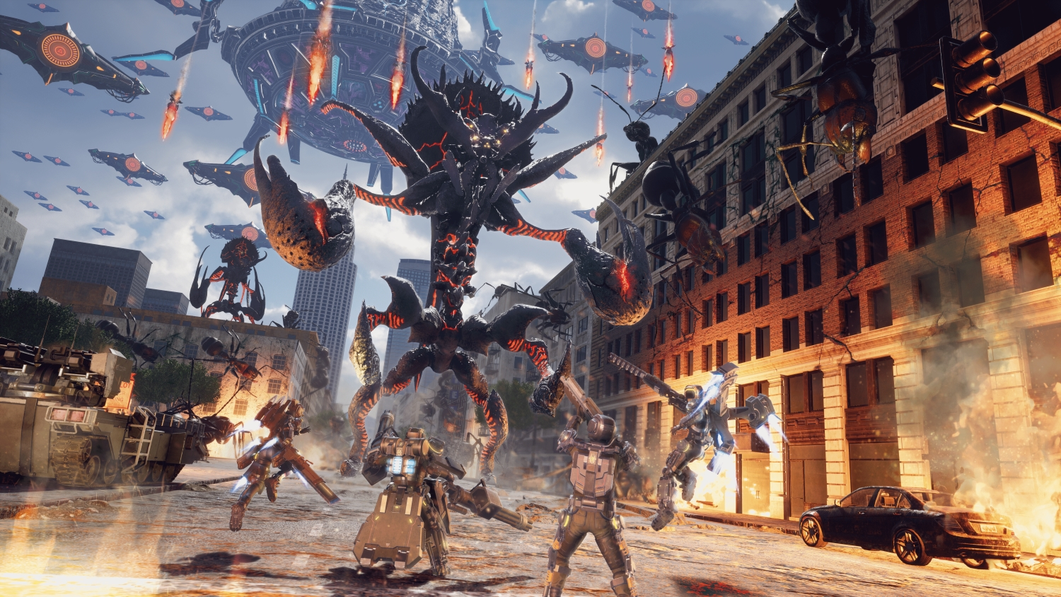 Earth Defense Force: Iron Rain review – seriously silly