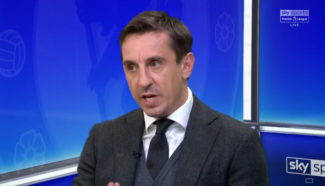 Gary Neville claims Anthony Martial, Romelu Lukaku and Alexis Sanchez can't follow Ole Gunnar Solskjaer's tactics at Manchester United