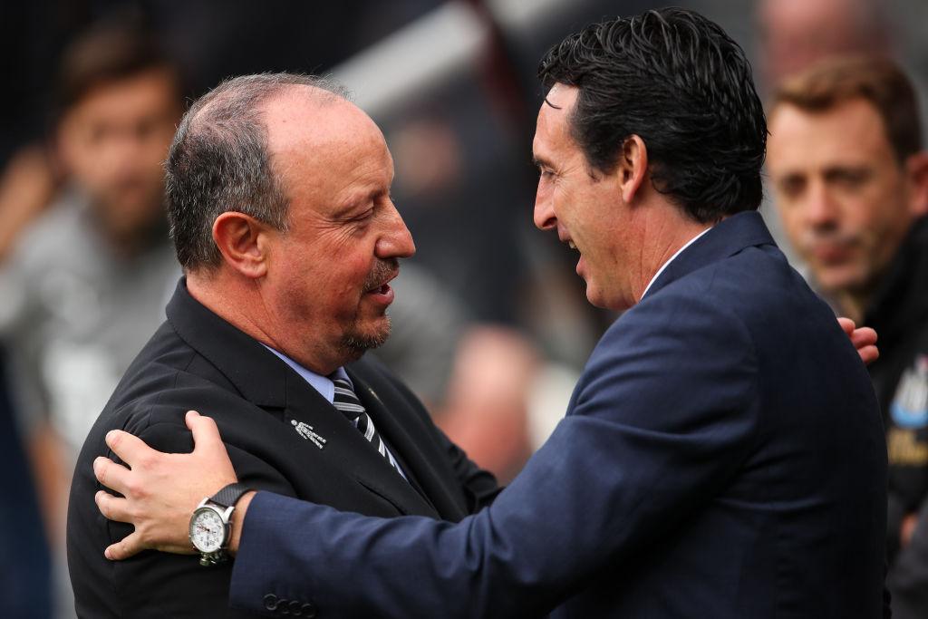 Arsenal manager Unai Emery gushes over Newcastle's Rafa Benitez ahead of Premier League clash