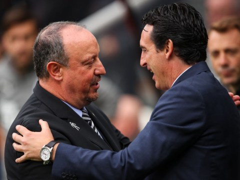 Arsenal manager Unai Emery gushes over Newcastle's Rafa Benitez ahead of Premier League clash
