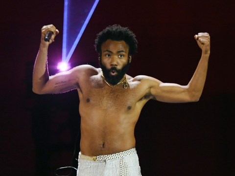 Childish Gambino shows off generous side as he gives away free shoes and premieres Guava Island at Coachella