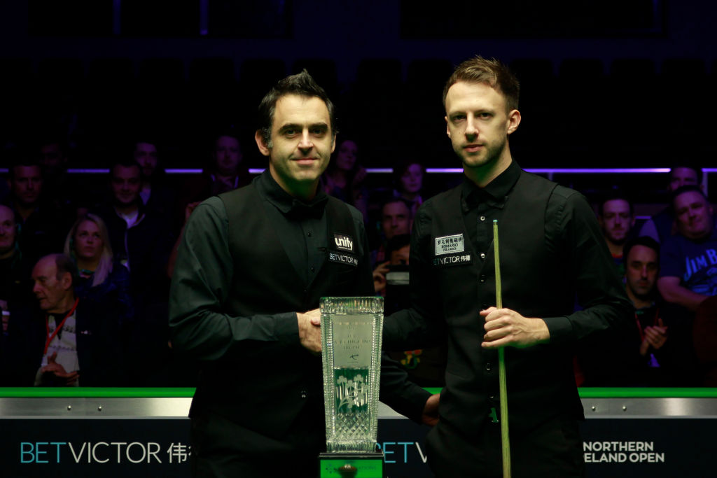 Ronnie O'Sullivan assesses Judd Trump's chances of winning the Snooker World Championship