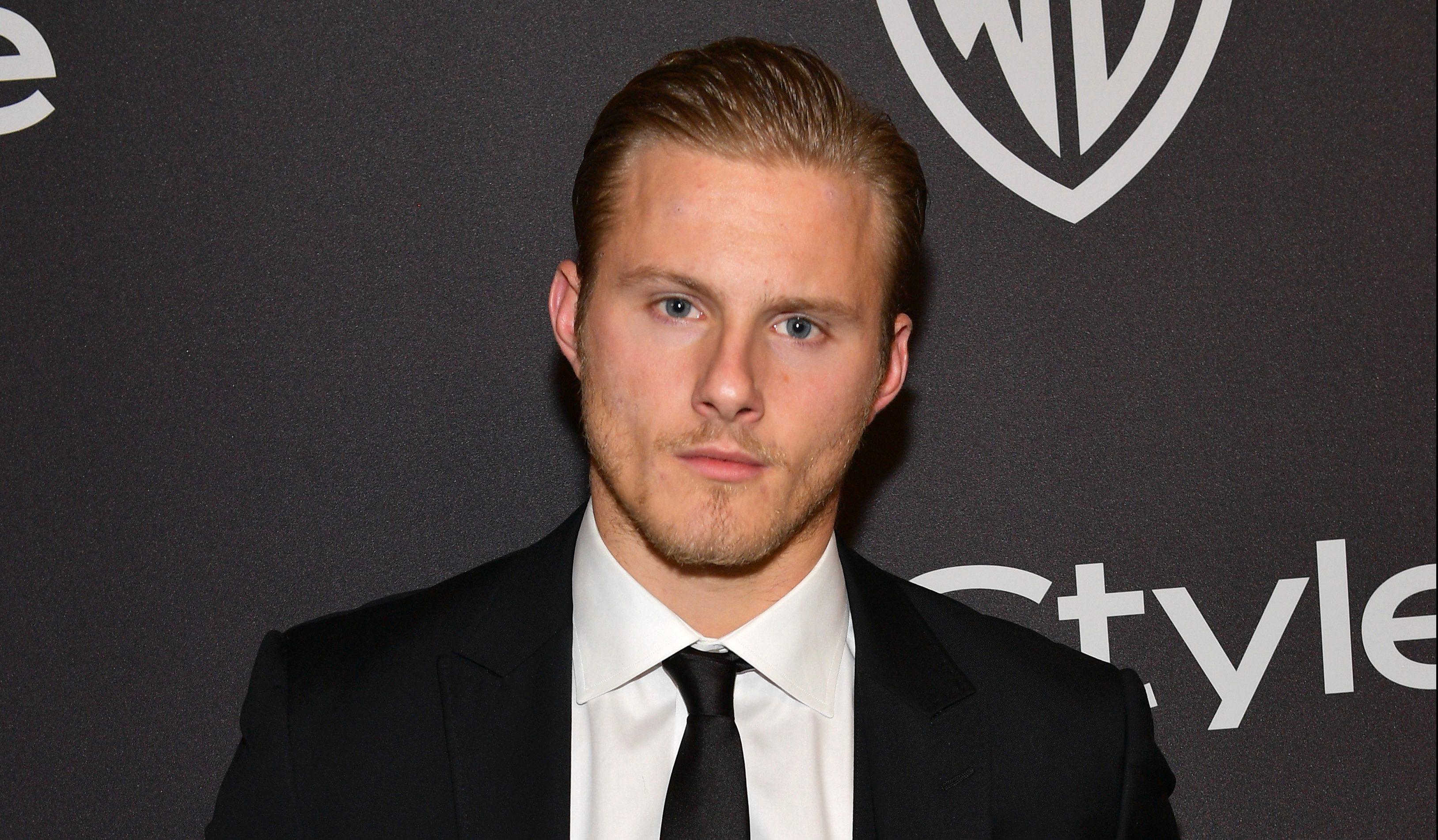 Vikings star Alexander Ludwig breaks diet with Travis Fimmel as fans freak out over reunion