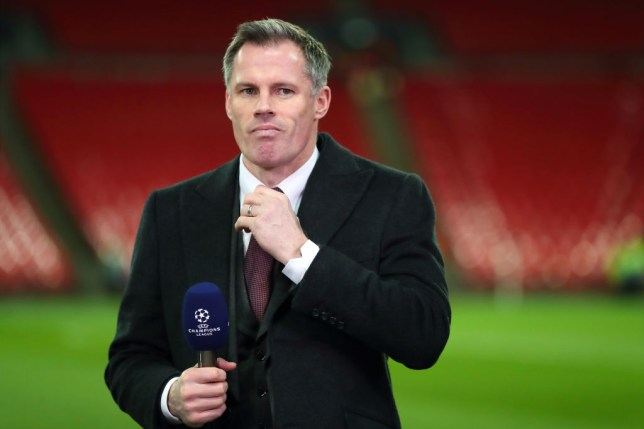 Jamie Carragher believes two fixtures will decide the Premier League title race