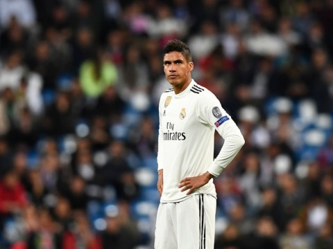 Real Madrid set price for Manchester United target Raphael Varane