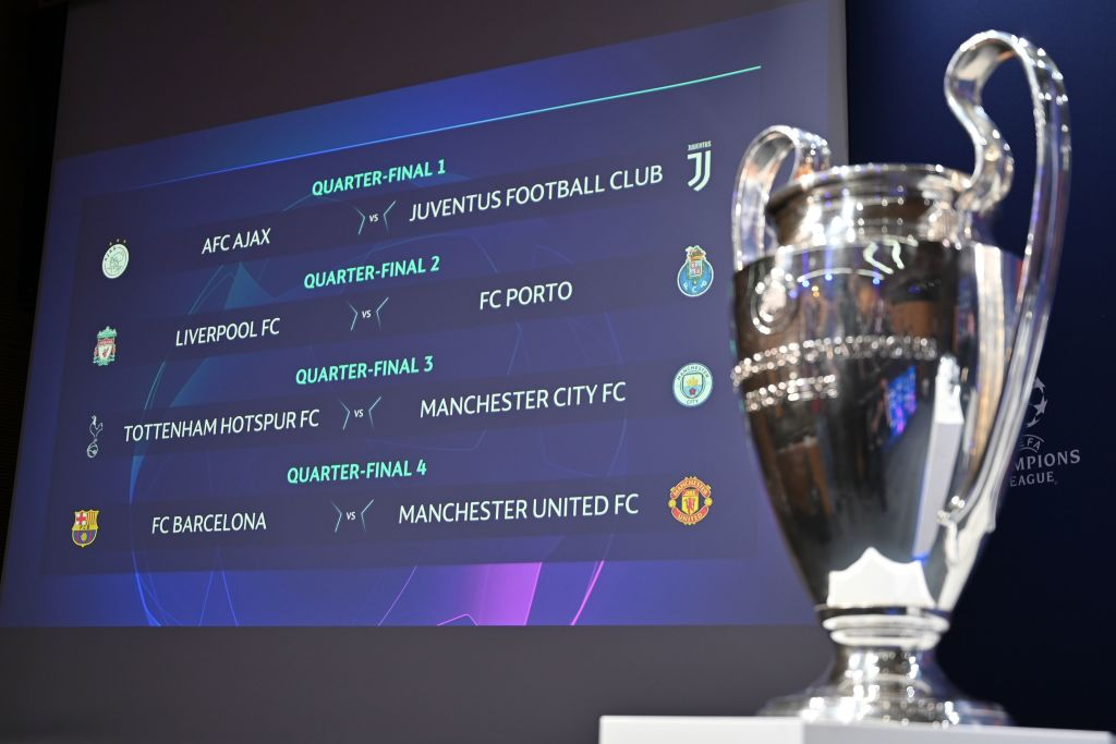 Charlie Nicholas delivers Champions League quarter-final predictions for Man Utd, Liverpool and Tottenham v Man City