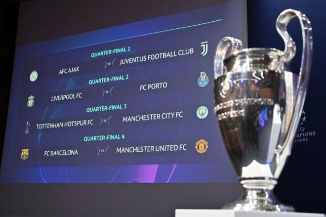 Champions League: Charlie Nicholas makes quarter-final