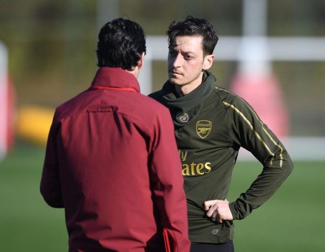 8f8ba65a04f Mesut Ozil appears to have won the confidence of Arsenal manager Unai Emery  (Picture  Getty)