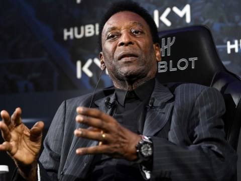 Brazil legend Pele taken to hospital in Paris after suffering from a fever