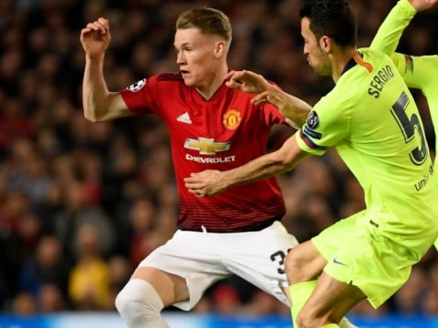 Rio Ferdinand heaps praise on Scott McTominay after Barcelona defeat