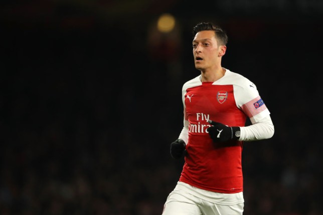 Mesut Ozil passed a late fitness test