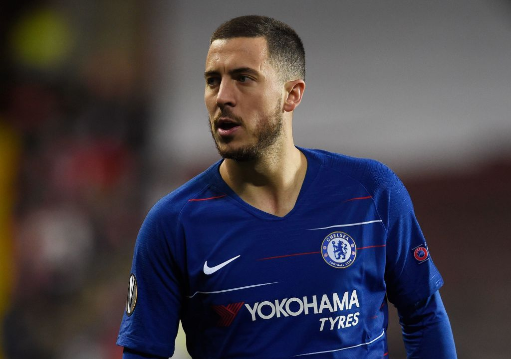 Chelsea star Eden Hazard delighted by Zinedine Zidane's return to Real Madrid