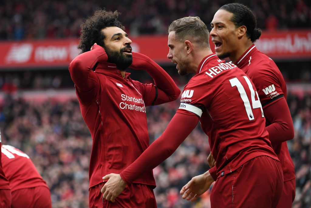 Mohamed Salah screamer dispels Chelsea demons as Liverpool see off last big test