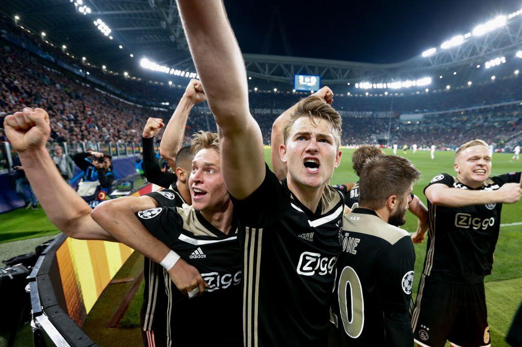 Ajax star Matthijs de Ligt asked about Barcelona transfer after knocking out Juventus