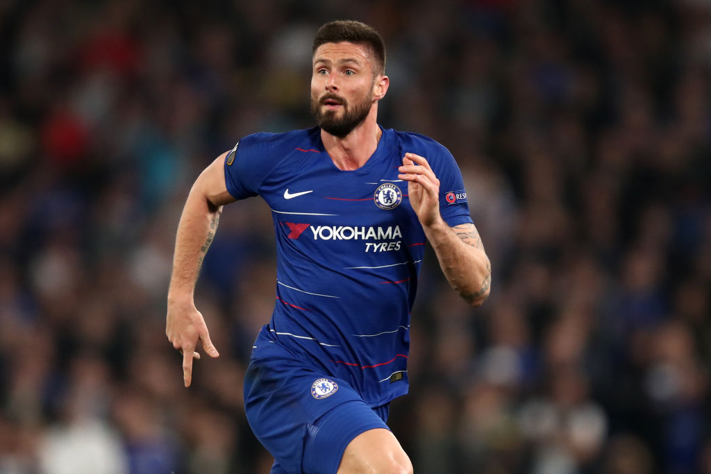 Olivier Giroud has been linked with a summer switch to Nice