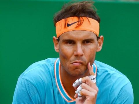 Rafael Nadal reacts to shock Monte Carlo loss to Fabio Fognini