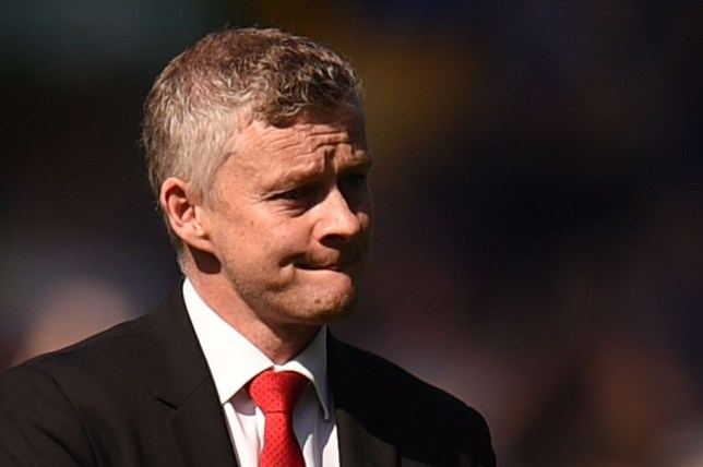 Ole Gunnar Solskjaer frowns during a game