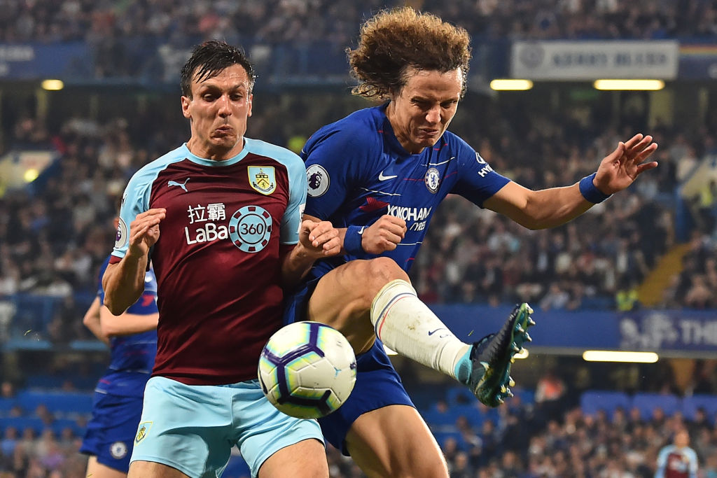 David Luiz slamed Burnley's tactics after the draw with Chelsea