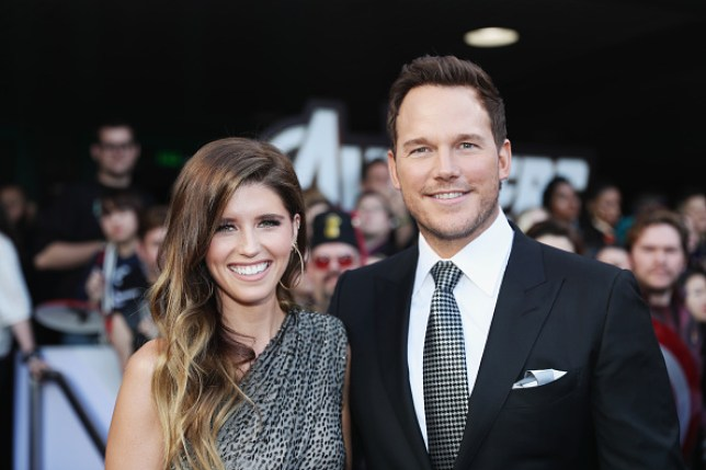 Katherine Schwarzenegger and Chris Pratt at the Avengers: Endgame premiere in LA
