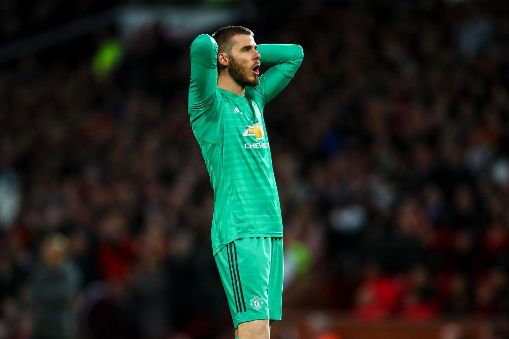 Gary Neville identifies key weakness in David De Gea's game after Manchester derby mistake