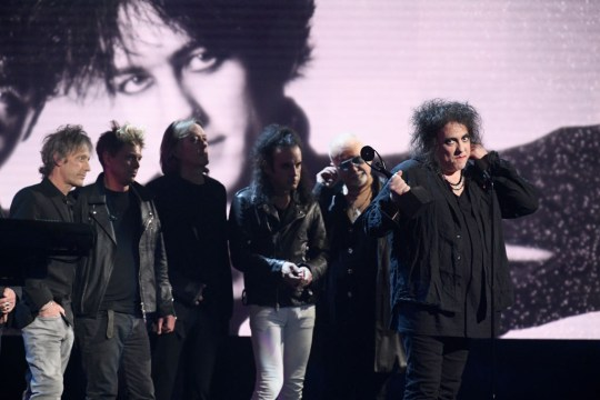 The Cure at Rock and Roll Hall of Fame