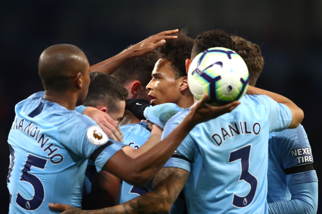 Manchester City overtake Liverpool at top of Premier League with routine Cardiff City victory