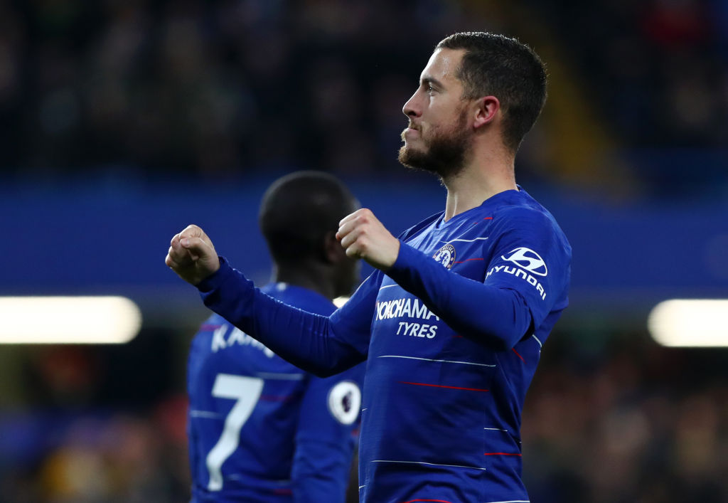Chelsea star Eden Hazard takes trophy dig at Tottenham after new stadium opening