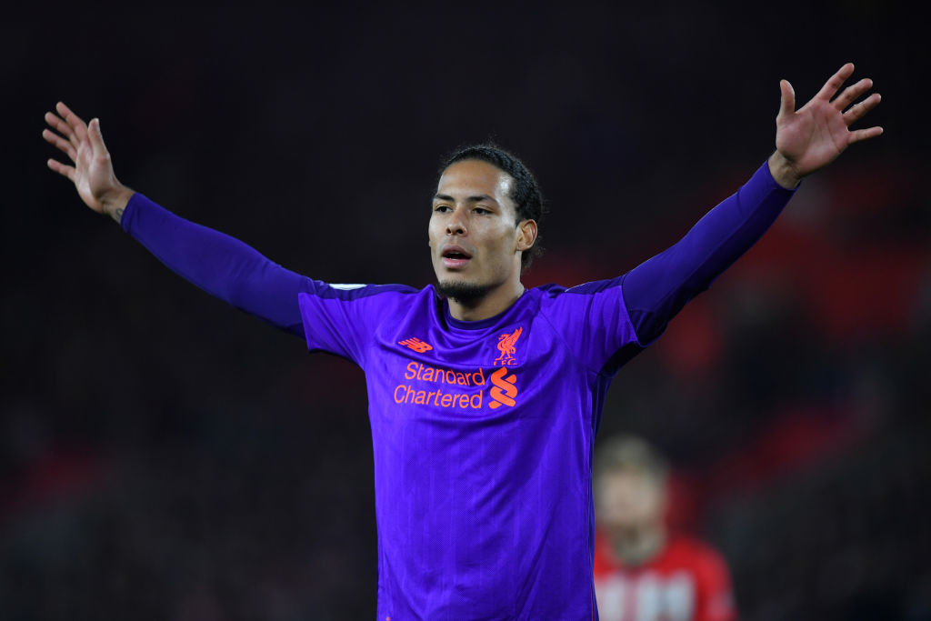 Virgil van Dijk votes for Raheem Sterling as Player of the Year while Man City star picks Harry Kane