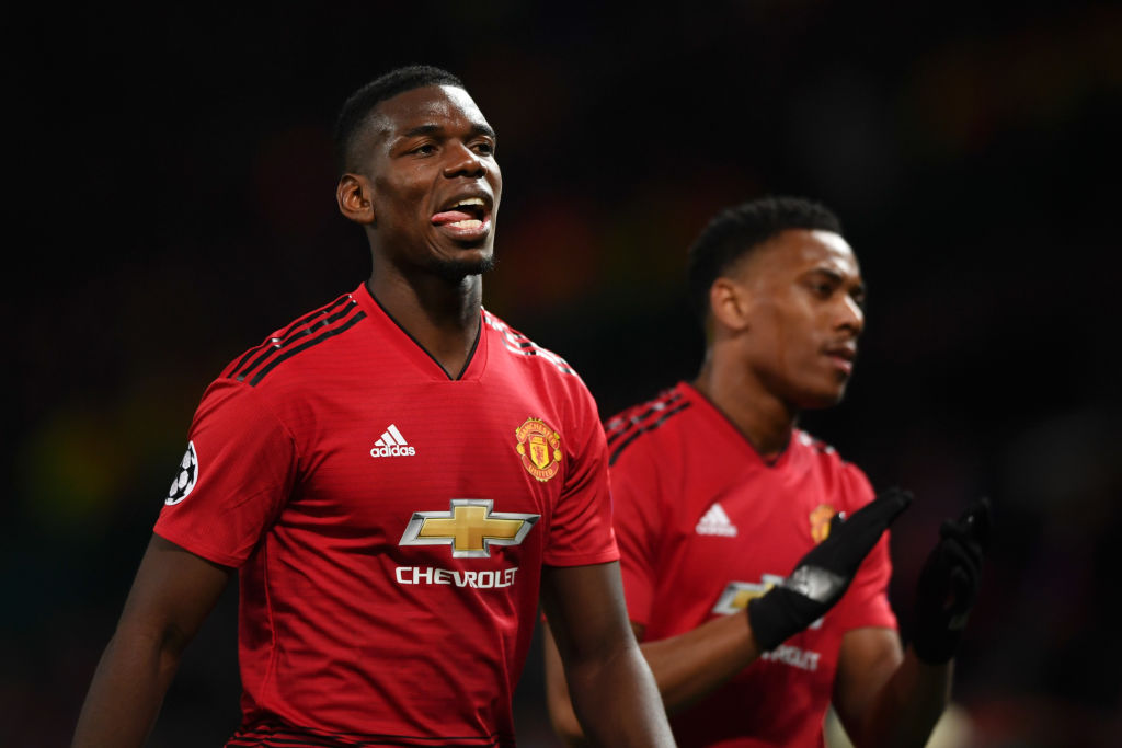 Paul Pogba is not thinking about Real Madrid and his running stats against Barcelona prove it, insists Ole Gunnar Solskjaer