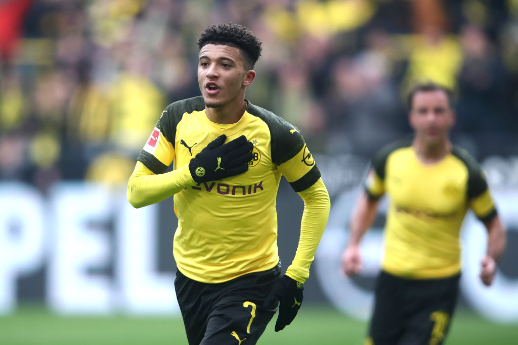 Jadon Sancho is expected to stay at Borussia Dortmund this summer