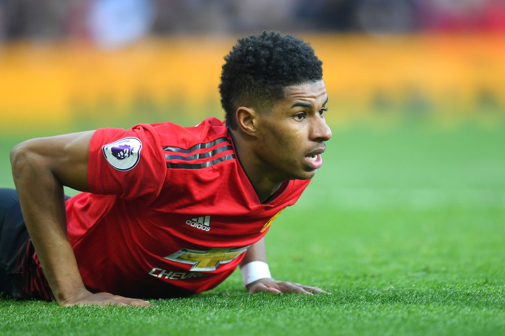Manchester United star has complained about Marcus Rashford's attitude problem