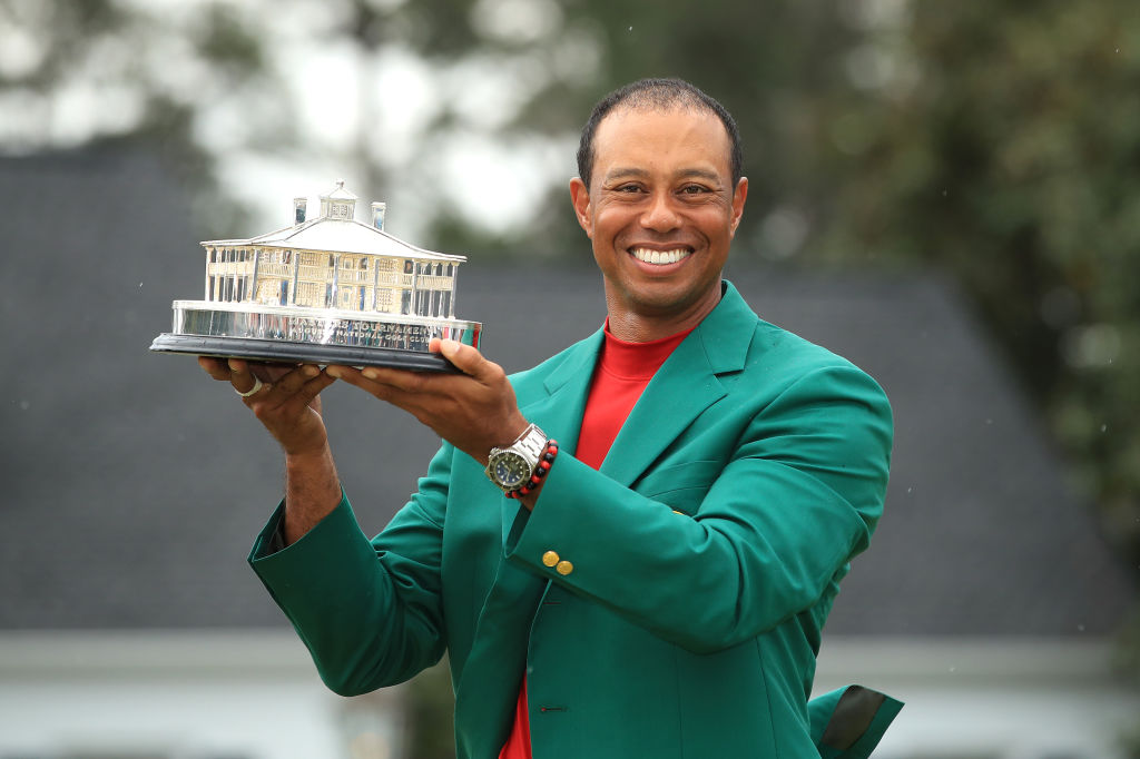 This was Tiger Woods' first triumph since the TOUR Championship in August