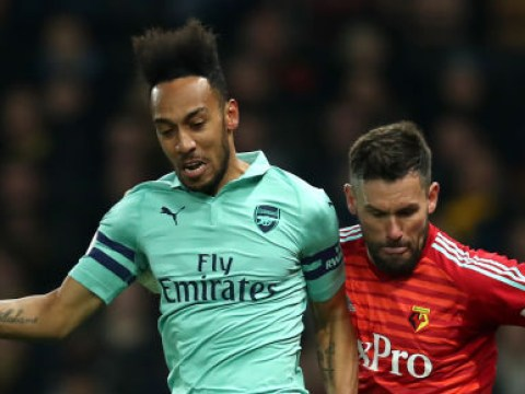 Ben Foster commits monumental howler during Watford's game against Arsenal