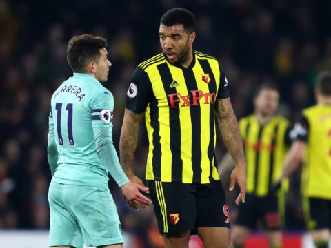 Troy Deeney called Lucas Torreira a 'f*****g p***y' after being sent off for elbowing Arsenal star