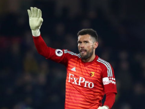 'I should have just Cruyff'd him!' Ben Foster acknowledges his error after Watford's loss to Arsenal