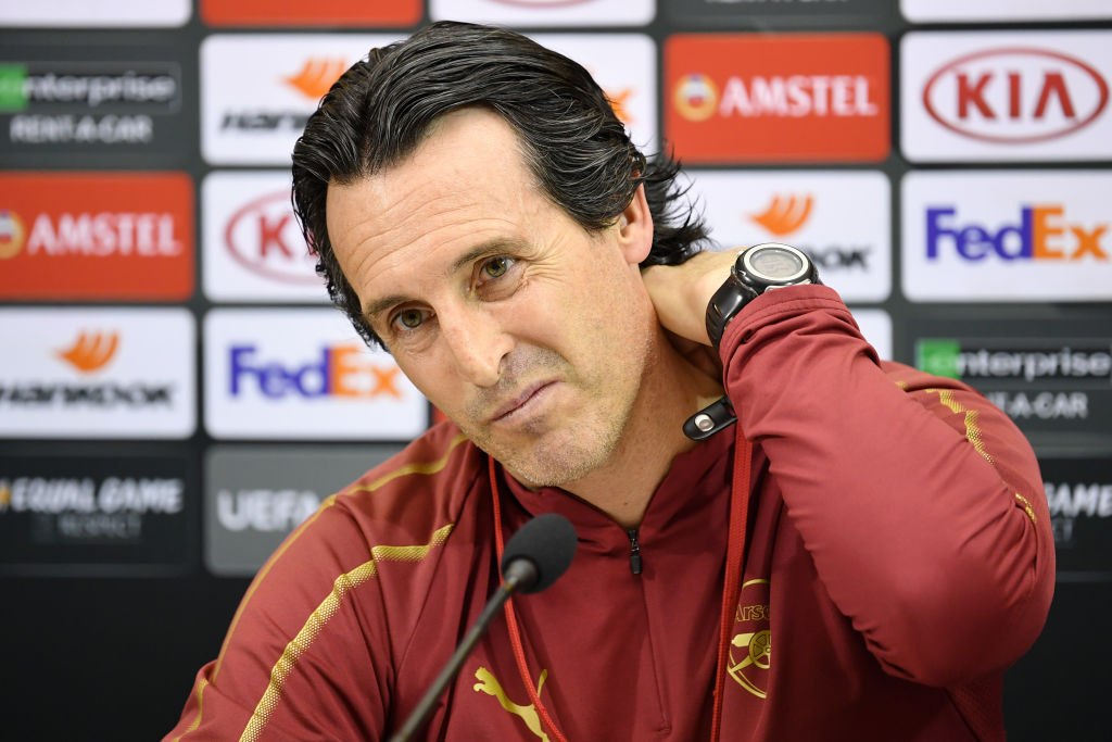 Arsenal to hand Unai Emery £75m transfer budget if Champions League football secured
