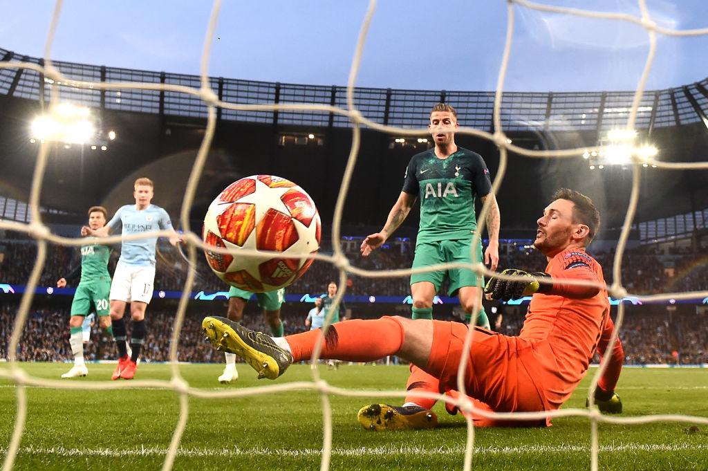 Glenn Hoddle criticises Hugo Lloris over Raheem Sterling's second goal against Spurs