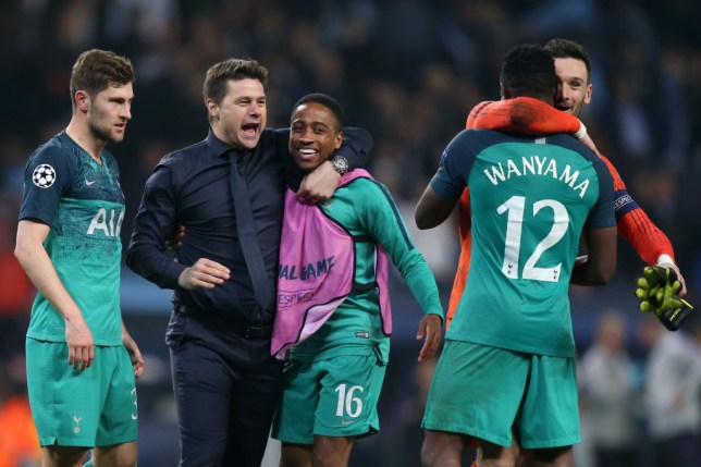 Tottenham face Ajax for a place in the Champions League final