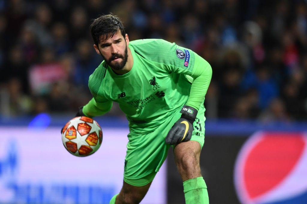 Alisson Becker explains why there is no pressure on Liverpool in the Premier League title race