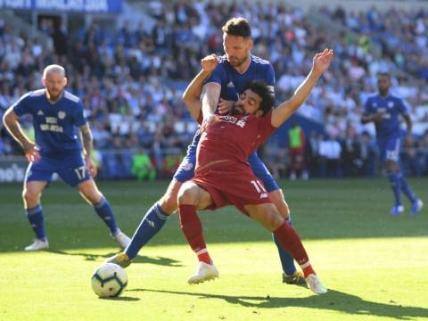 Vinnie Jones praises Liverpool star Mohamed Salah's acting skills after winning penalty against Cardiff