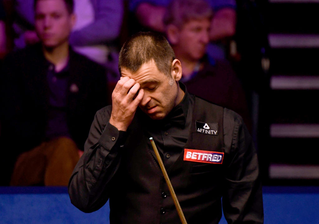Ronnie O'Sullivan pessimistic about Snooker World Championship future after six years without Crucible success
