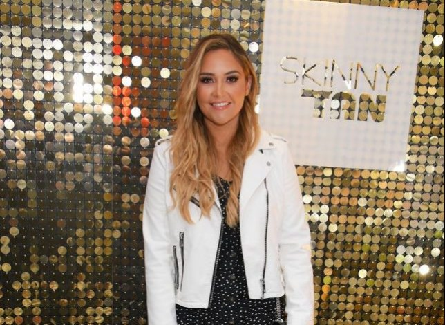 Jacqueline Jossa 'in good spirits' and her wedding ring was definitely on for girls night out