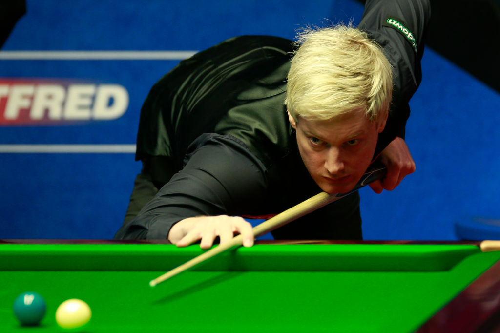 Neil Robertson claims Snooker World Championship table is the worst he's played on all season