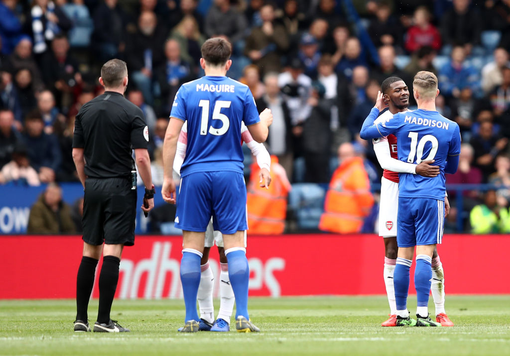 Graeme Souness slams James Maddison after Arsenal's Ainsley Maitland-Niles is shown red card