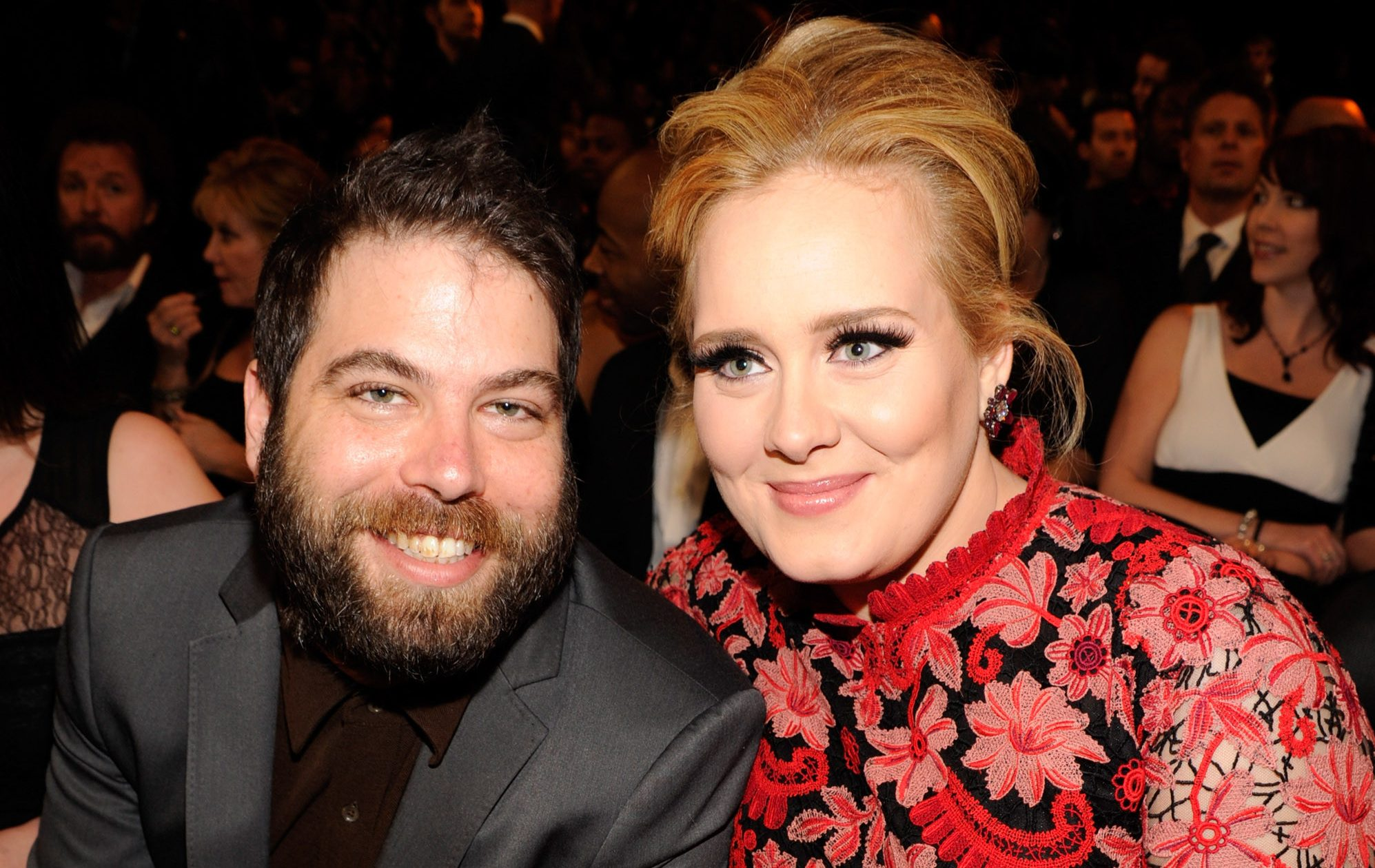 Adele moves on from ex-husband Simon Konecki as she's 'seen kissing a furry-faced man'