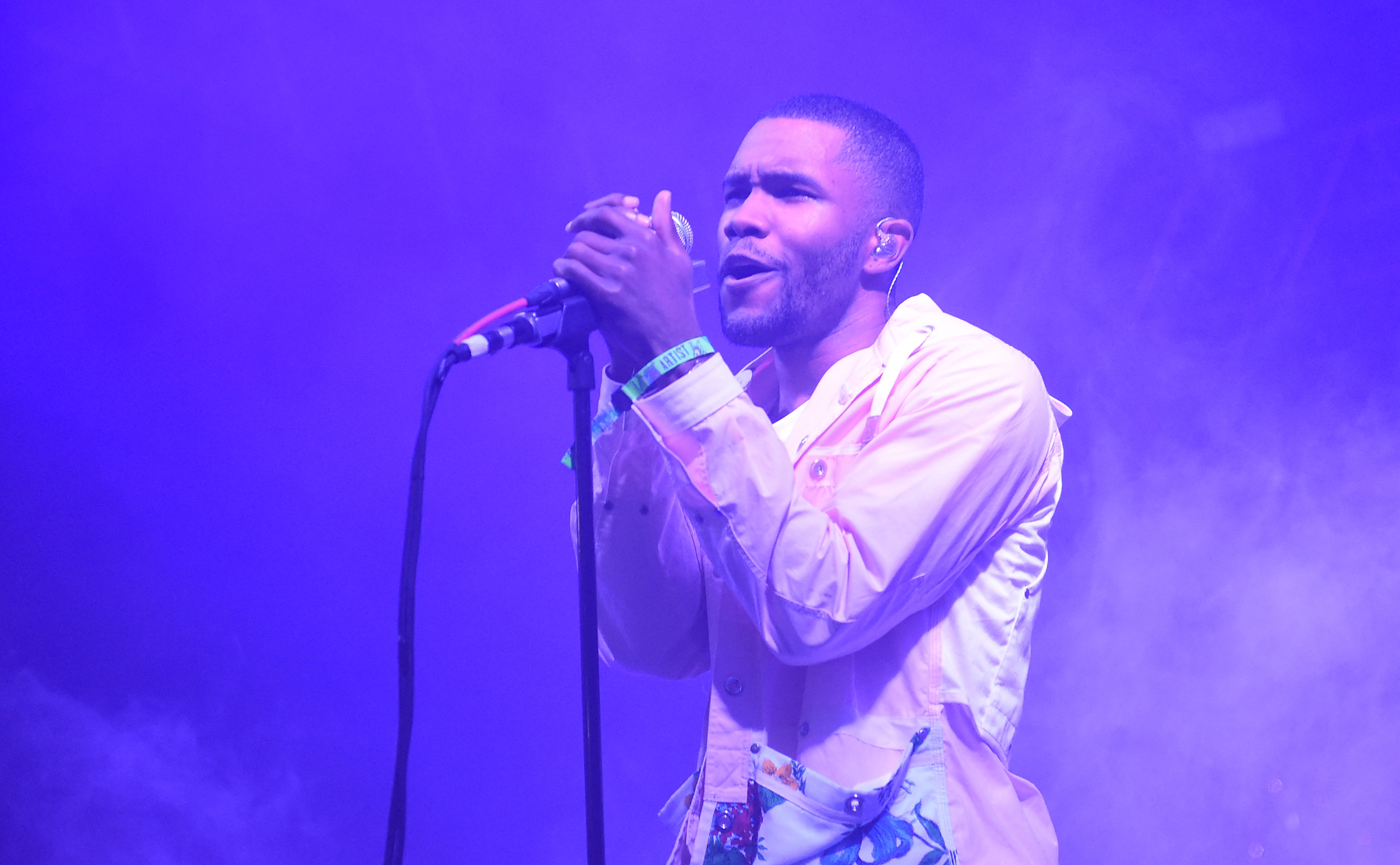 Frank Ocean reveals he's been in a relationship for three years and we had no clue