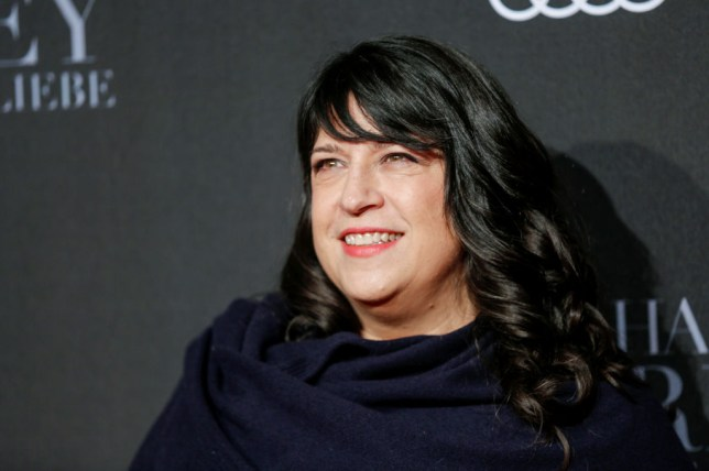 Author EL James, who wrote the Fifty Shades of Grey books