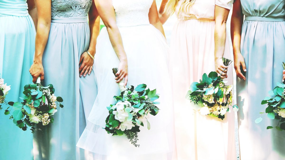 Bride caught out stealing flowers from her neighbour's garden for her wedding